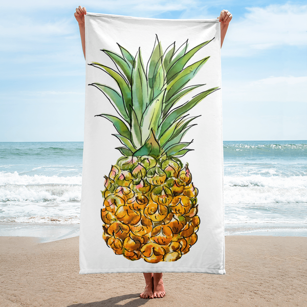 The Welcome Bag Committee Pineapple Towel