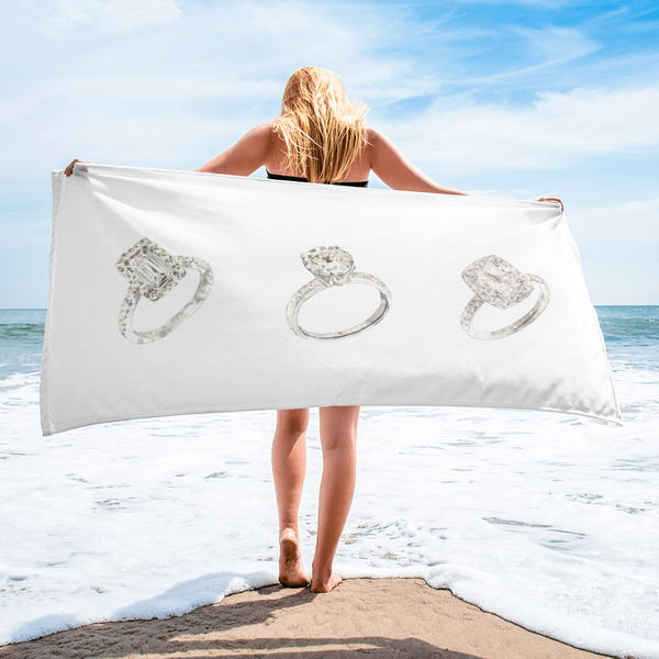 Engagement Ring Towel