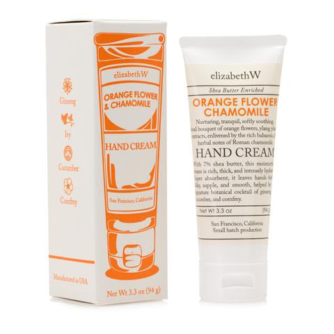 Orange Flower Chamomile Hand Cream