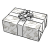 French Set Halo Gift Wrap