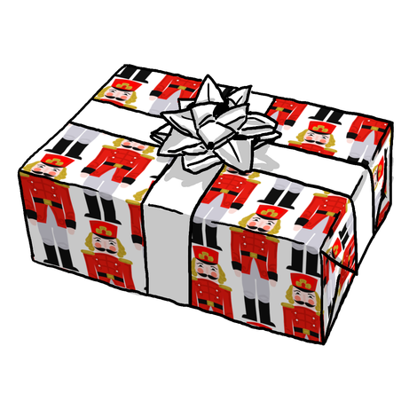Russian Nutcracker Gift Wrap