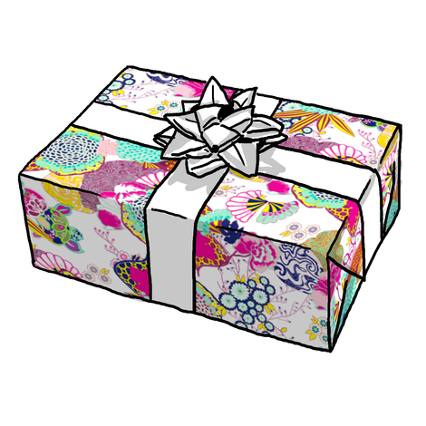 Ukiyo Japanese Design Gift Wrap