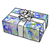 Panda Purple/Blue Gift Wrap