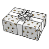 BUMBLEBEE HEXAGON GIFT WRAP