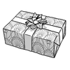 Black & White Art Deco Gift Wrap