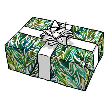 Palm Grass Gift Wrap