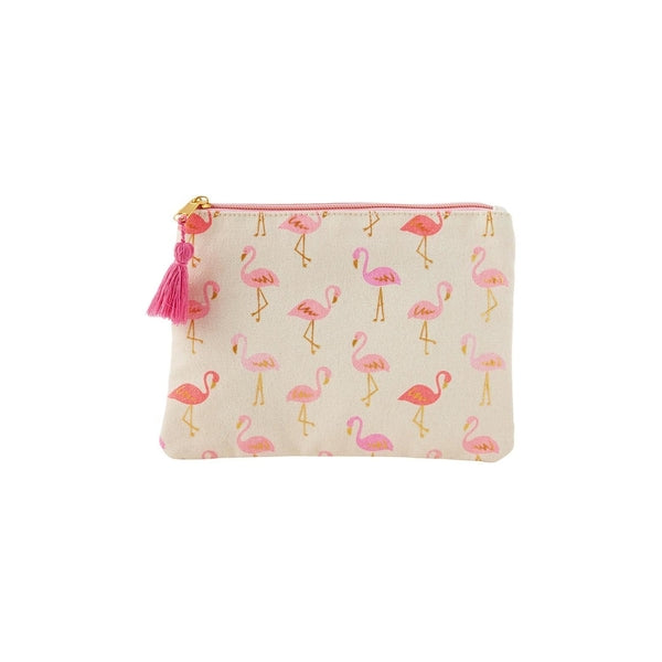 Fancy Flamingos Cosmetic Bag