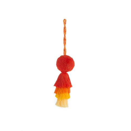 Topolino Tassel Charm Orange