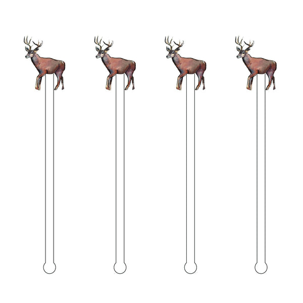 DEER ACYLIC STIR STICKS