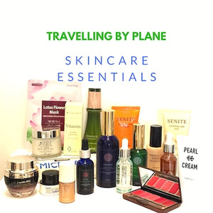 TRAVELLING SKINCARE ESSENTIALS