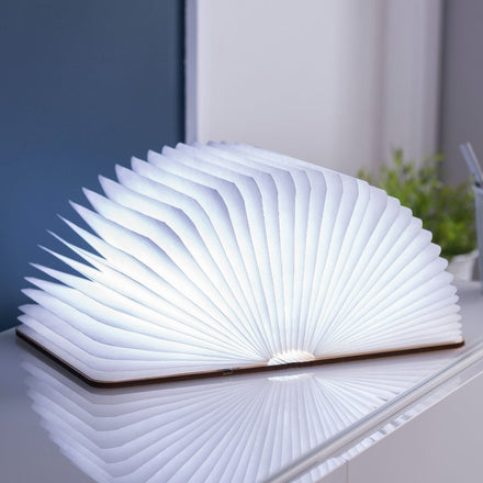 Gingko Smart Book Light - Walnut