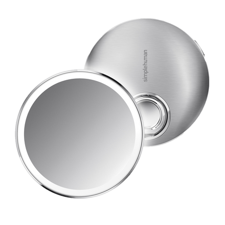 Stainless Steel Compact Mirror