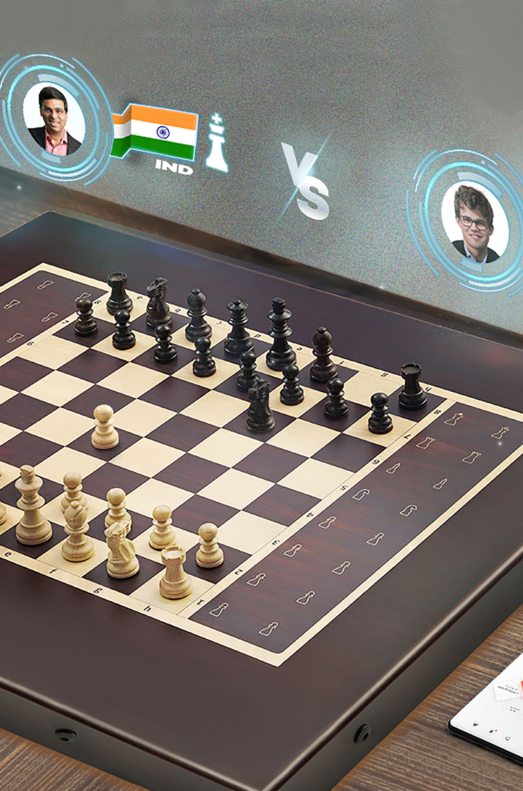 Square Off Smart Electronic Chess Board