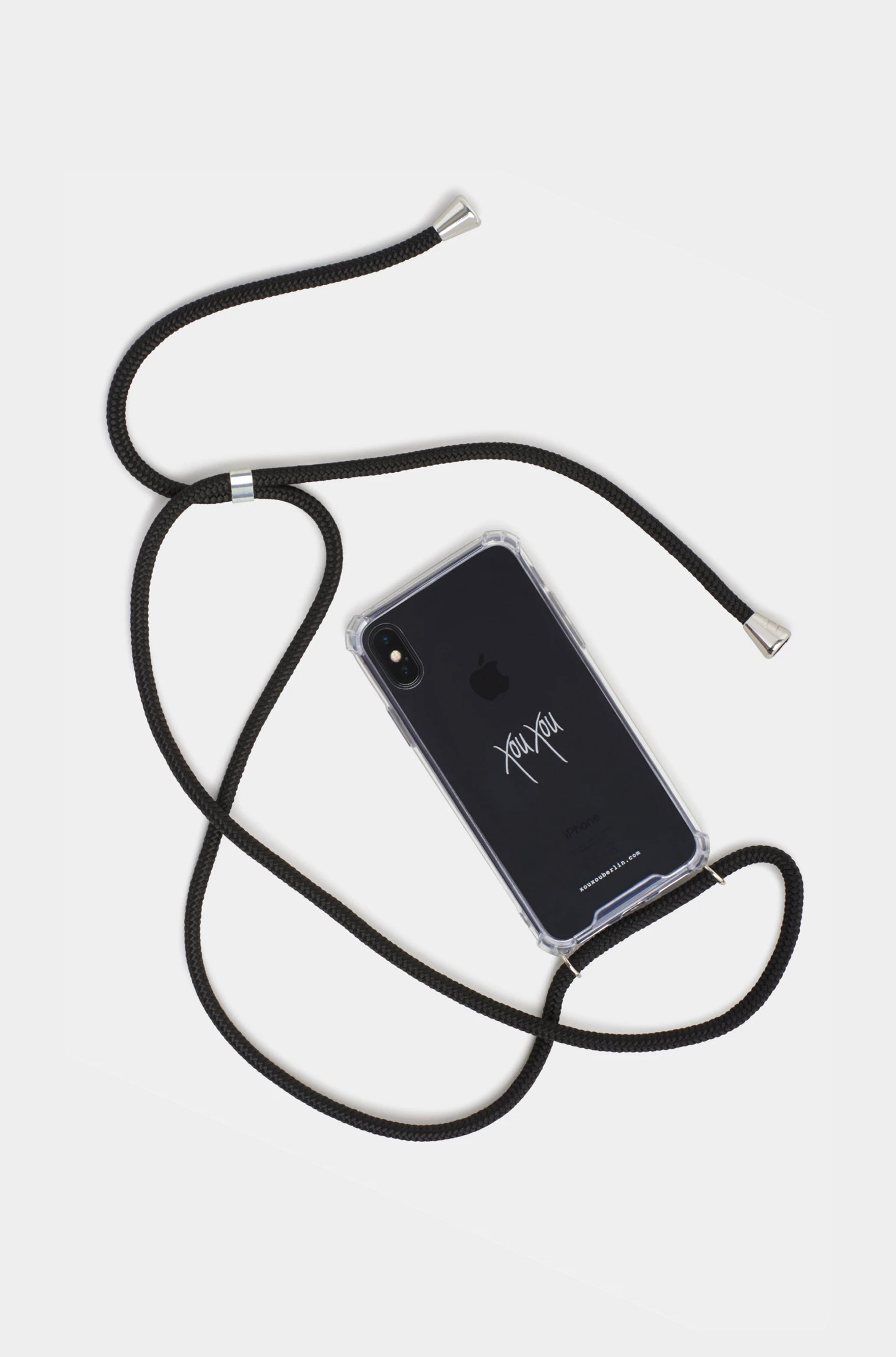 Xou Xou Smartphone Necklace For iPhones - Black