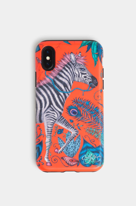 Emma Shipley Lost World Red Phone Case
