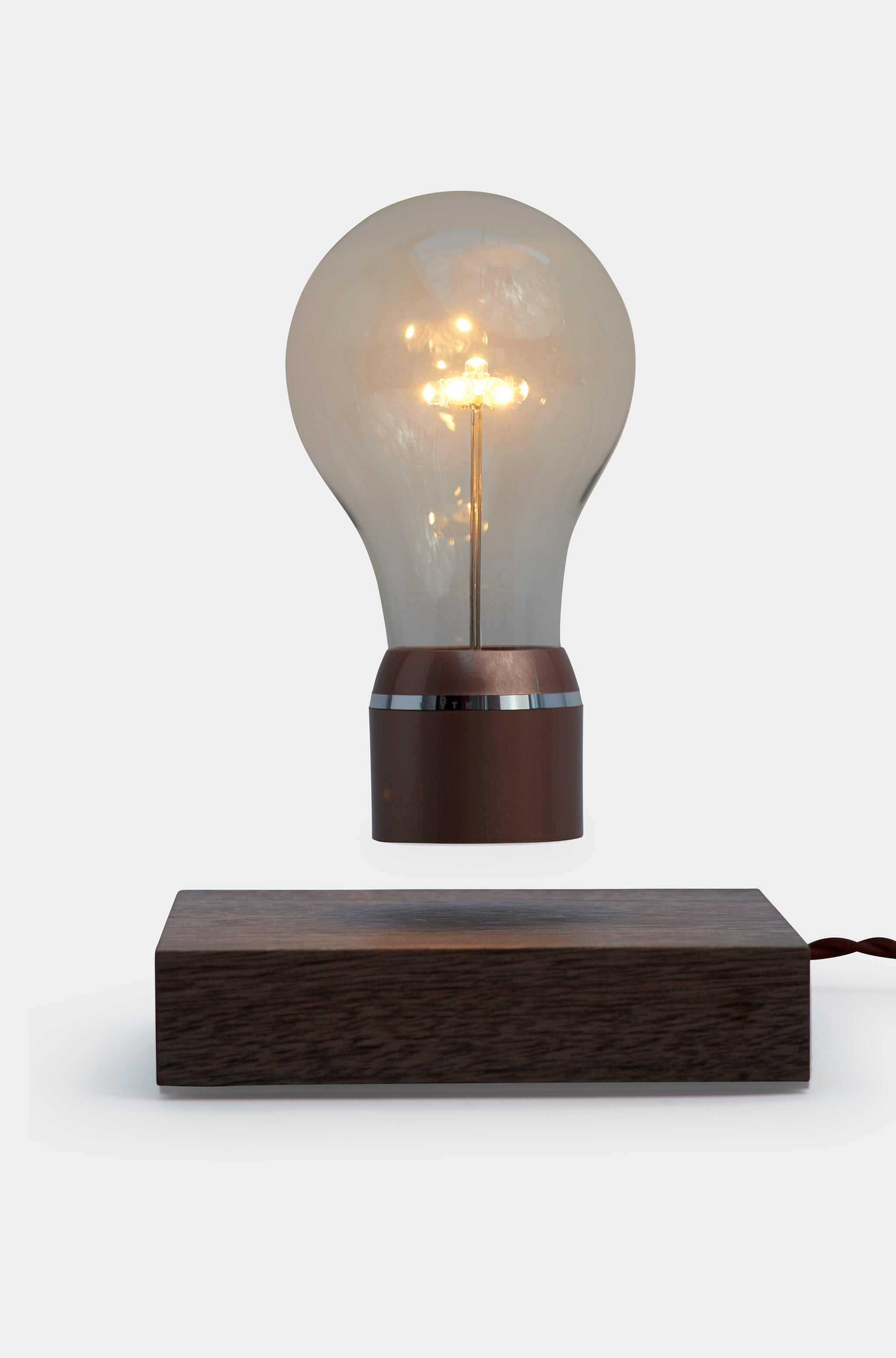 Levitating Light Bulb  - Flyte Buckminster
