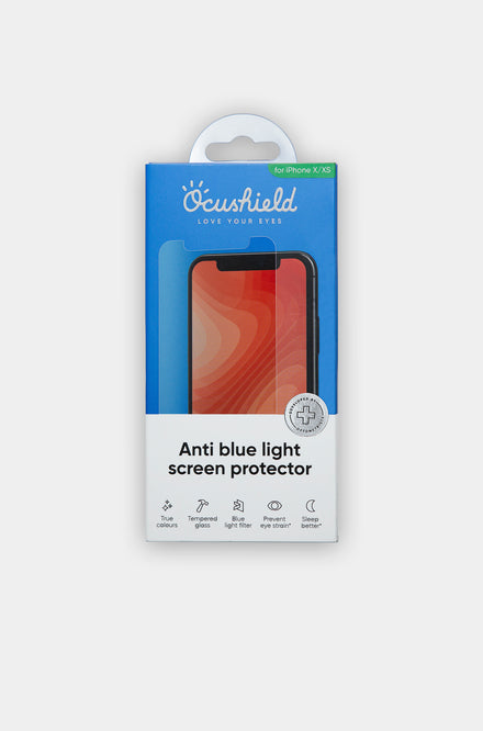 Anti blue light screen protector - iPhone