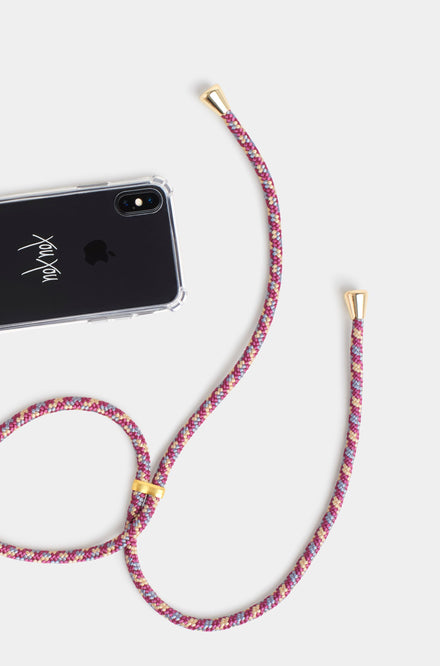 Xou Xou Smartphone Necklace For iPhones - Bordeaux