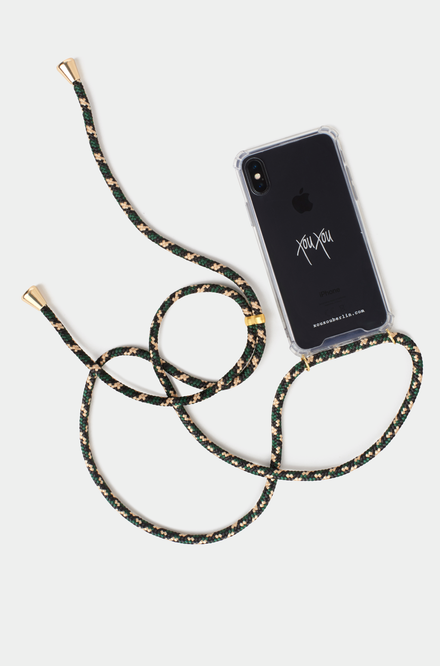 Xou Xou Smartphone Necklace for iPhones - Camouflage