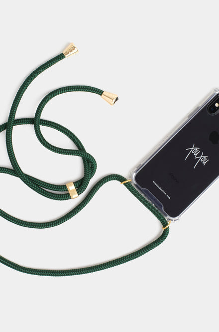 Xou Xou Smartphone Necklace For iPhones - Emerald
