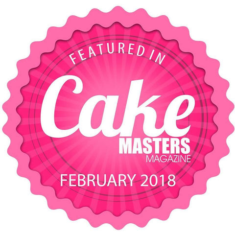 Published in Cake Masters Magazine Feb 2018