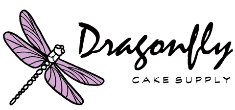 Dragonfly Cake Supply Logo