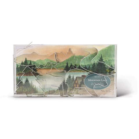Mountain Lake Cookie Cutter Gift Set