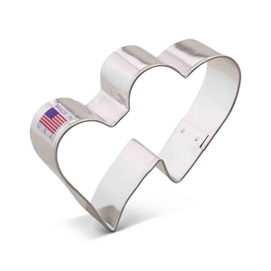 Double Hearts Cookie Cutter