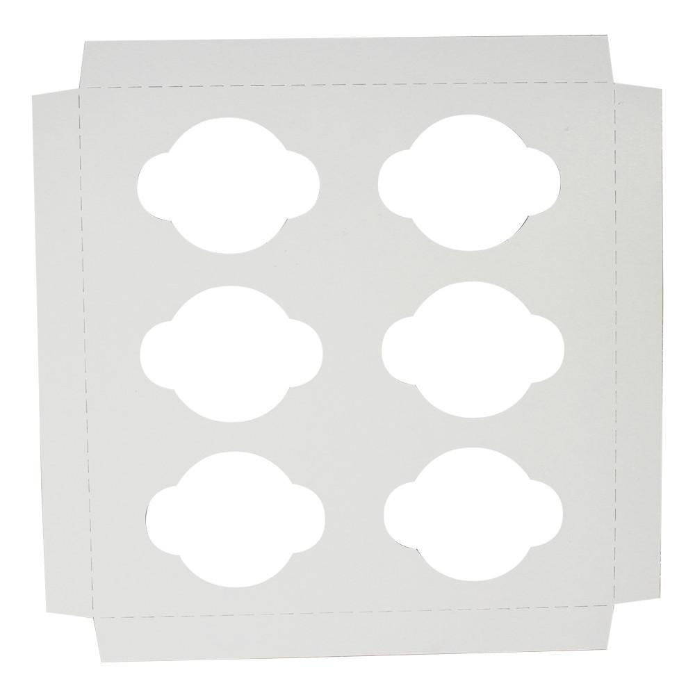 Inserts for Cupcake Boxes - 6 Regular