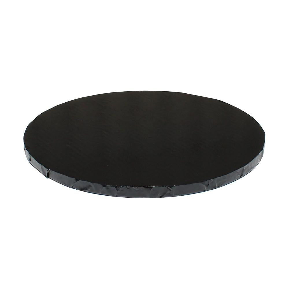 "Black Foil Cake Drums 1/2"" - 16"" Round"
