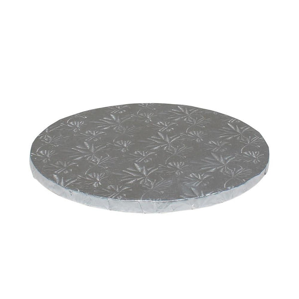 "Silver Foil Cake Drums 1/2"" - 8"" Round"