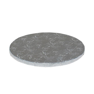 "Silver Foil Cake Drums 1/2"" - 14"" Round"