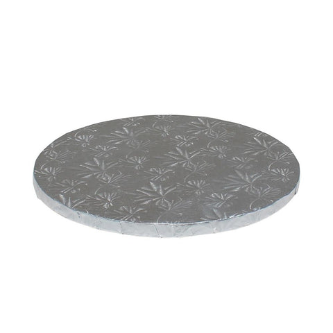 "Silver Foil Cake Drums 1/2"" - 12"" Round"