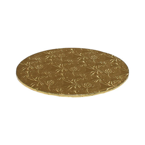 "Gold Foil Cake Boards 1/4"" - 10"" Round"