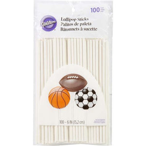 "6"" Cake Pop Sticks - 100 count"