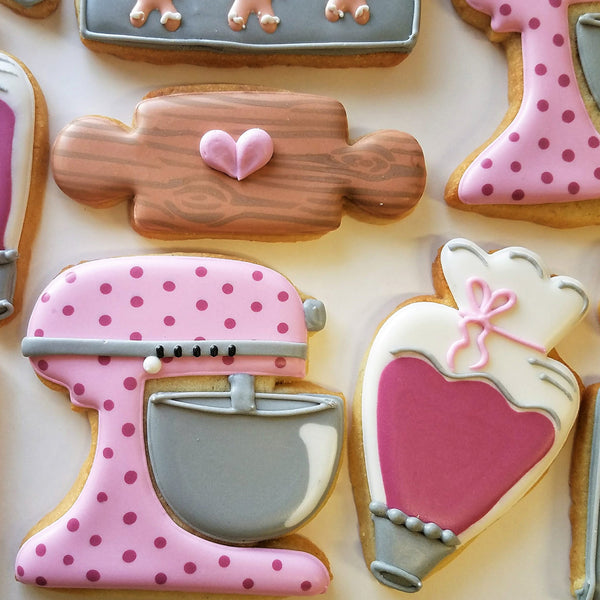 Kitchen Mixer Cookie Cutter - Dragonfly Cake Supply, Alberta, Canada