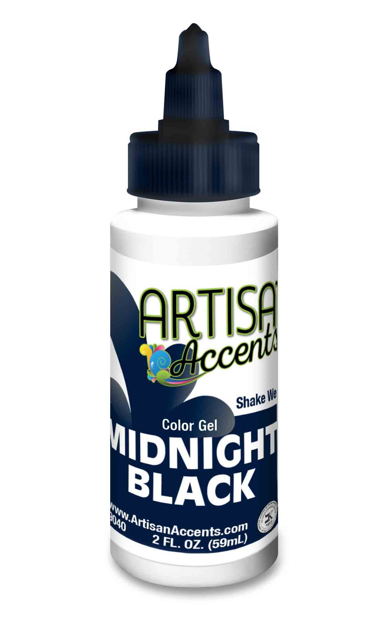 Artisan Accents Gel Color - Midnight Black