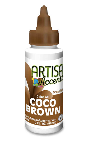 Artisan Accents Gel Color - Coco Brown