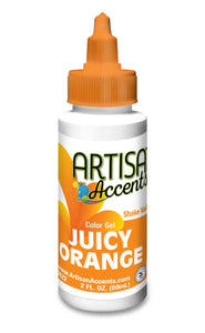 Artisan Accents Gel Color - Juicy Orange