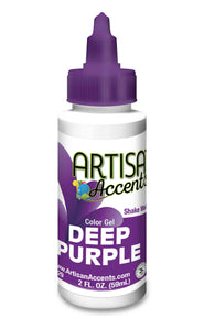 Artisan Accents Gel Color - Deep Purple
