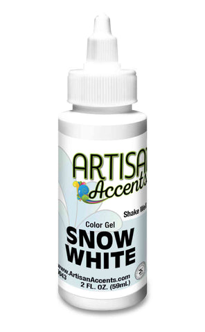 Artisan Accents Gel Color - Snow White