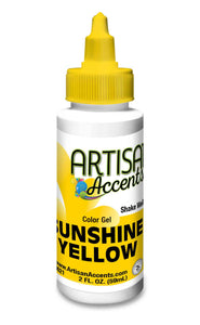 Artisan Accents Gel Color - Sunshine Yellow