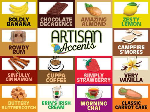 Artisan Accents Flavourings - Dragonfly Cake Supply, Alberta