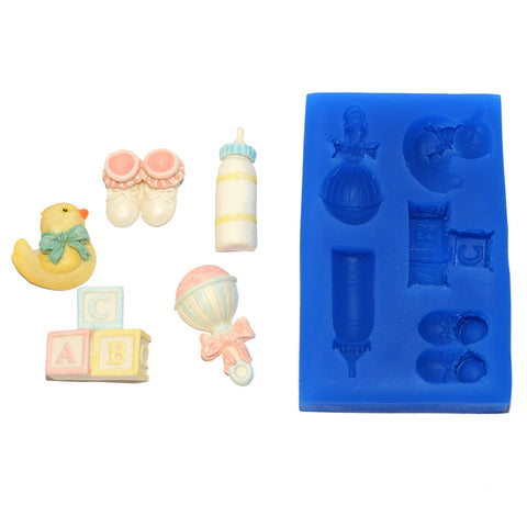 Baby Set Silicone Mould