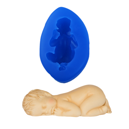 Sleeping Baby Silicone Mould
