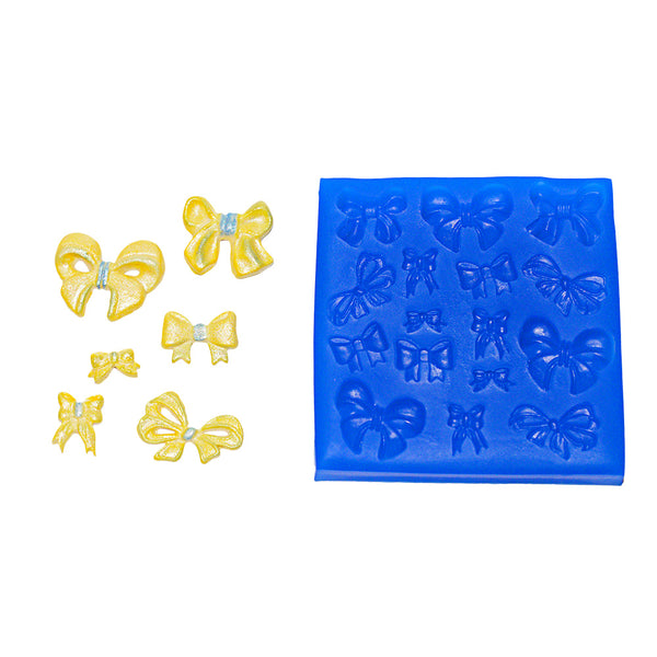 Small Bows Silicone Mould