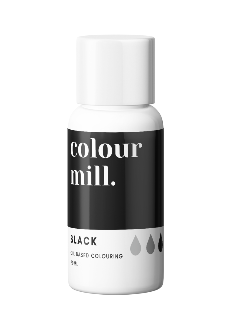 Oil Based Colouring - Colour Mill - Black 20ml