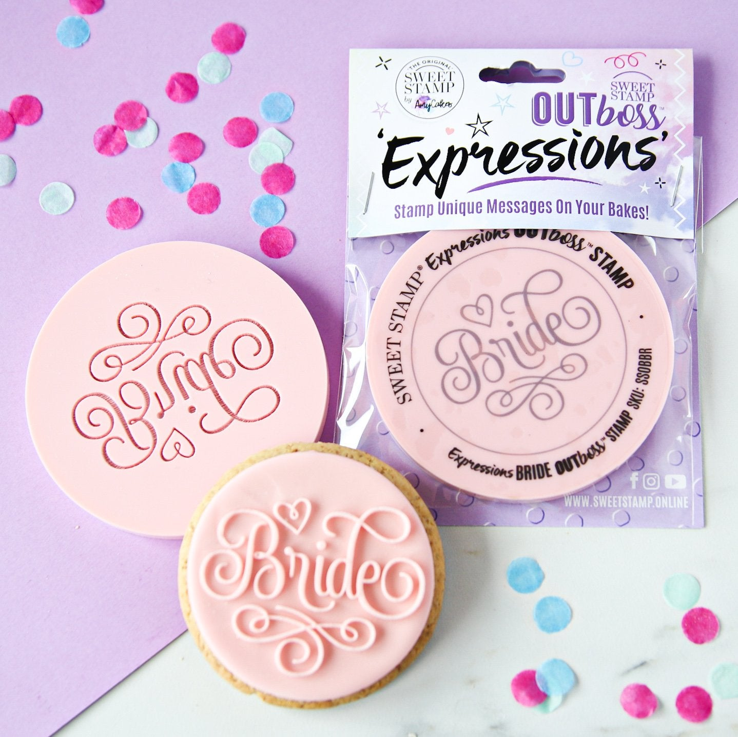 SWEET STAMP - OUTboss Expressions - Bride
