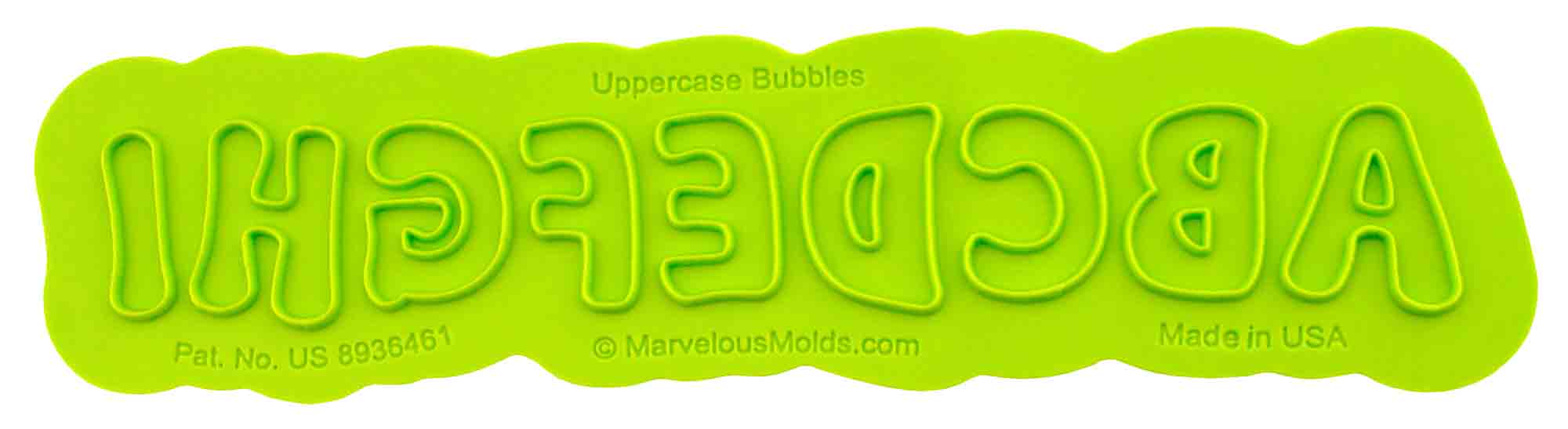 Bubble Uppercase Flexabet™