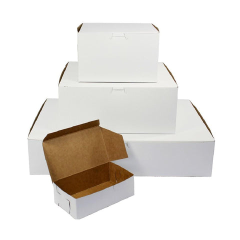 "White Cake Boxes - 14 x 14 x 6"" - Dragonfly Cake Supply, Alberta, Canada"